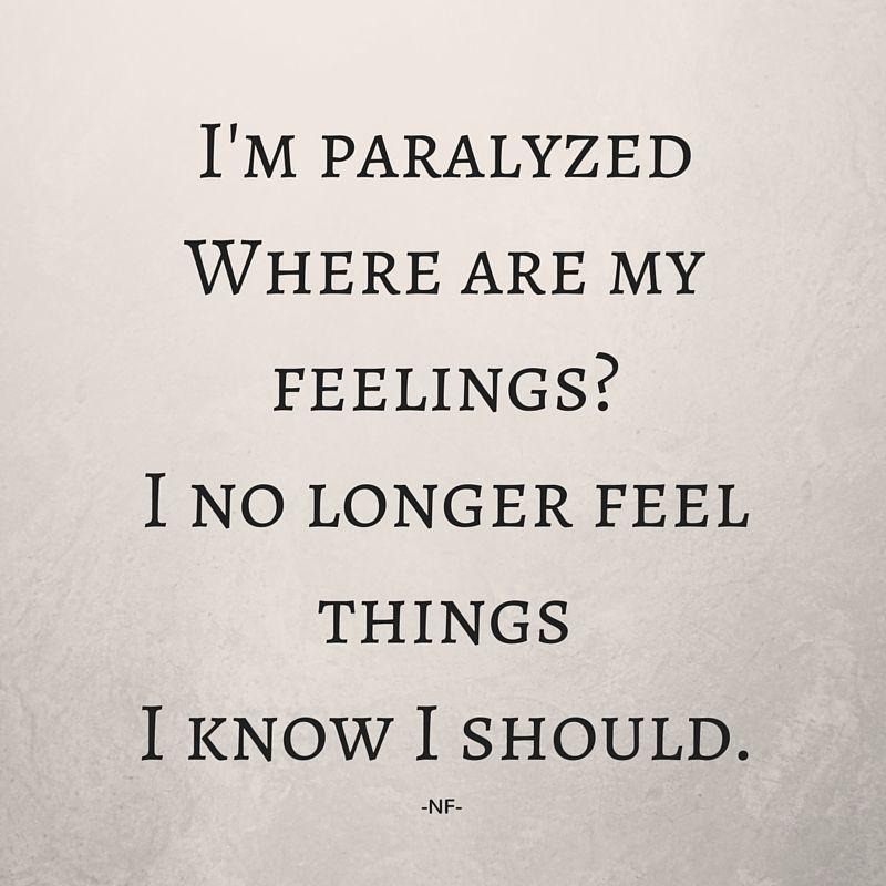 Lyric i m not afraid eminem lyrics : NF | Paralyzed