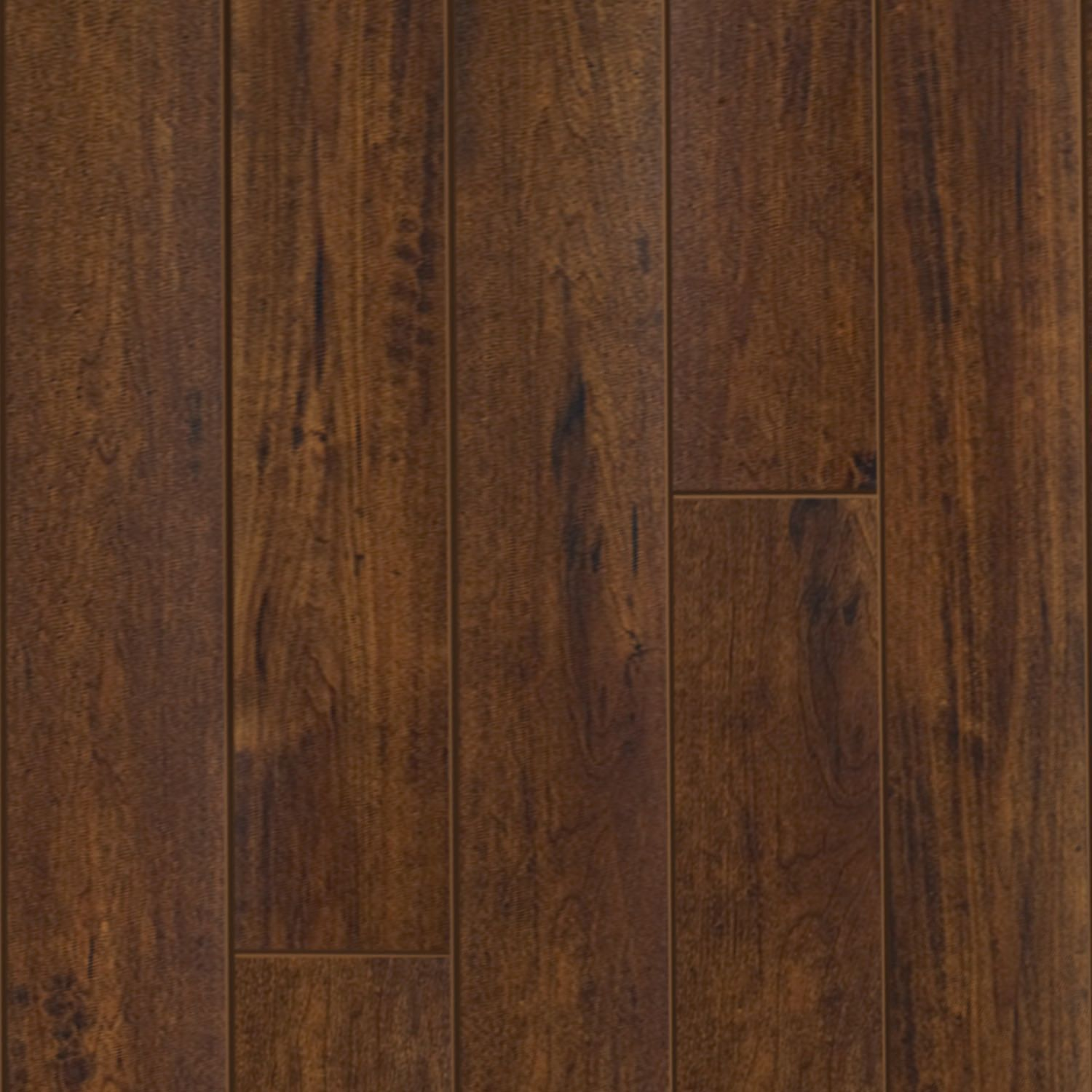 Select Surfaces Click Laminate Flooring   Cocoa Walnut   17.23 Sq. Ft. For  $29.12