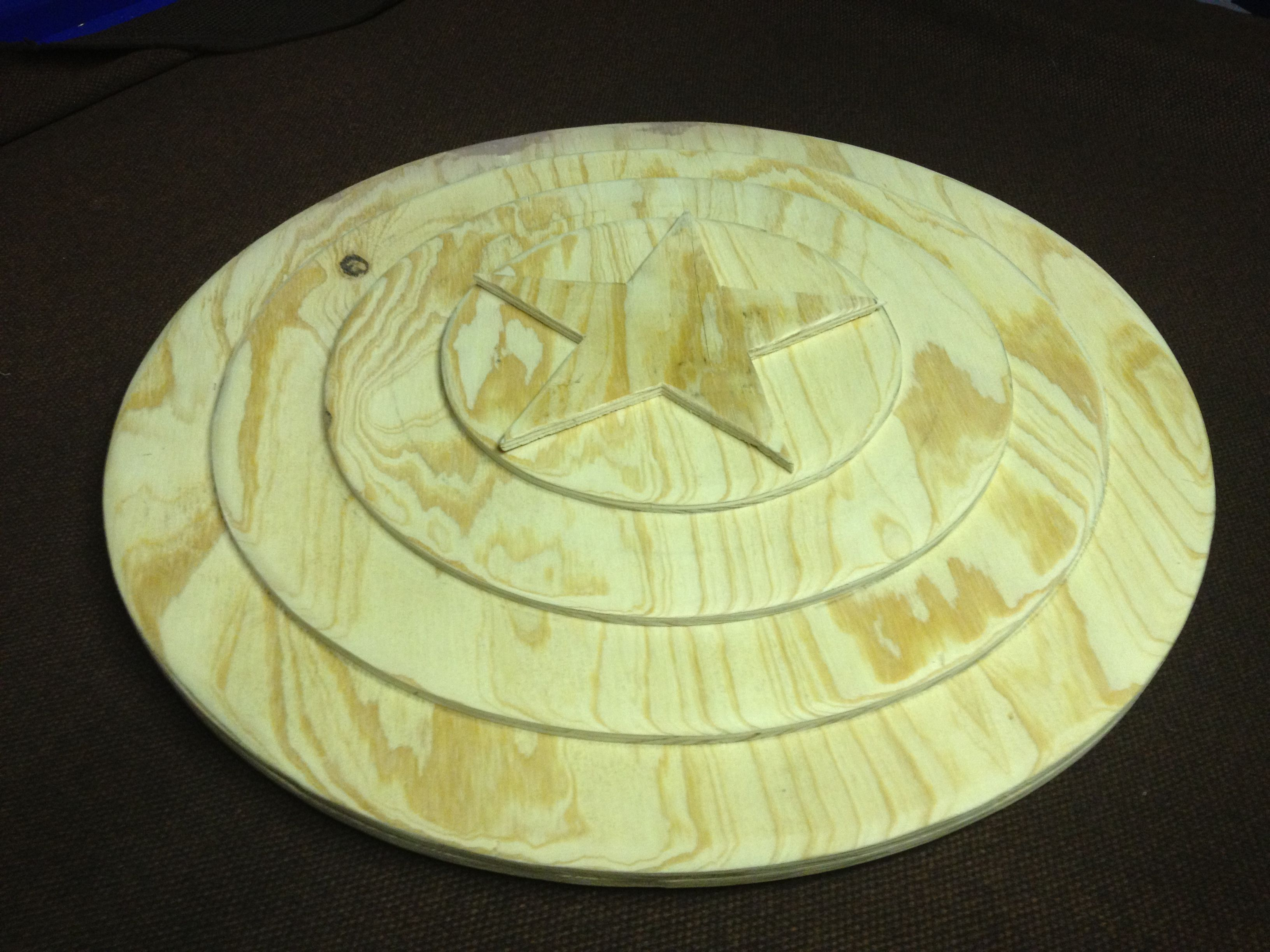 Plywood Captain America Shield Crafts Woodworking Captain
