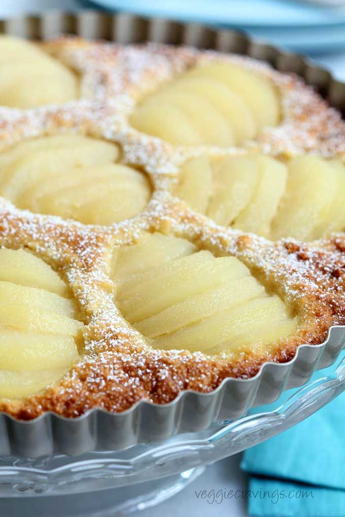 Pear And Almond Tart Dairy And Gluten Free Recipe
