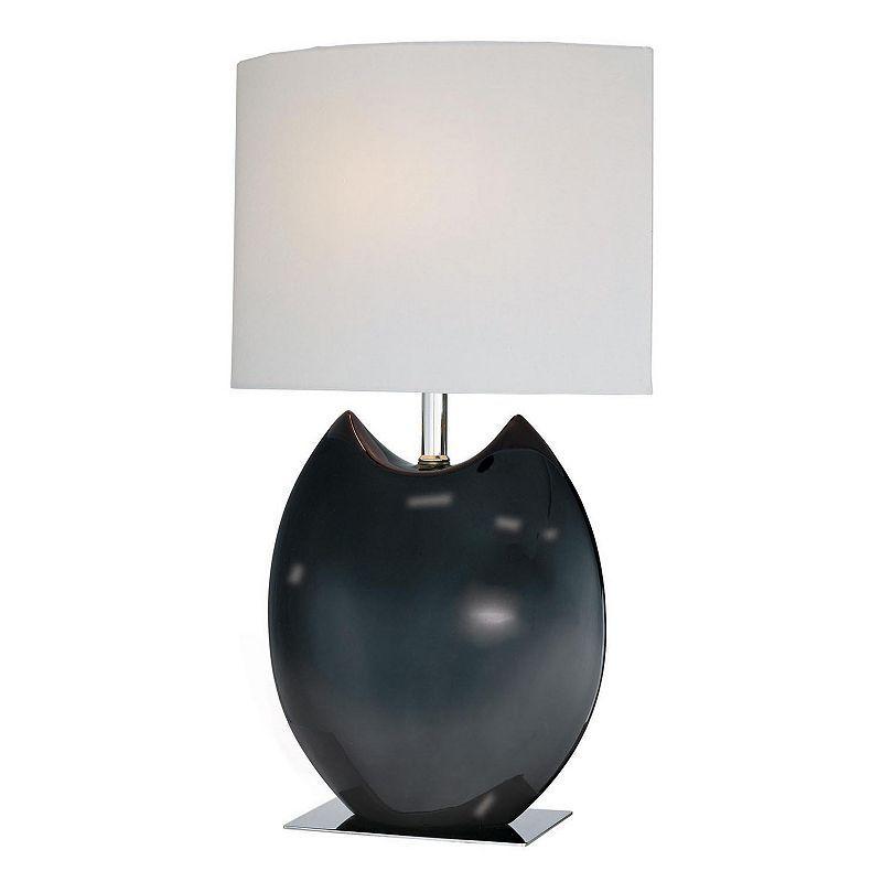 Lite Source Inc. Spazio Table Lamp, Black