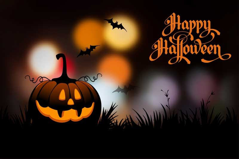 Charmant Happy Halloween Wish