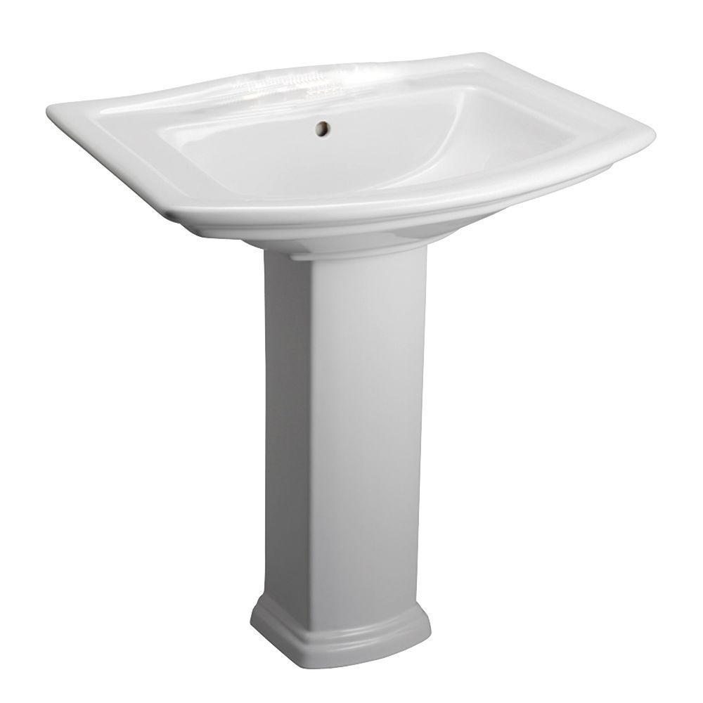 S O Barclay Products Washington 765 30 In Pedestal Combo Bathroom