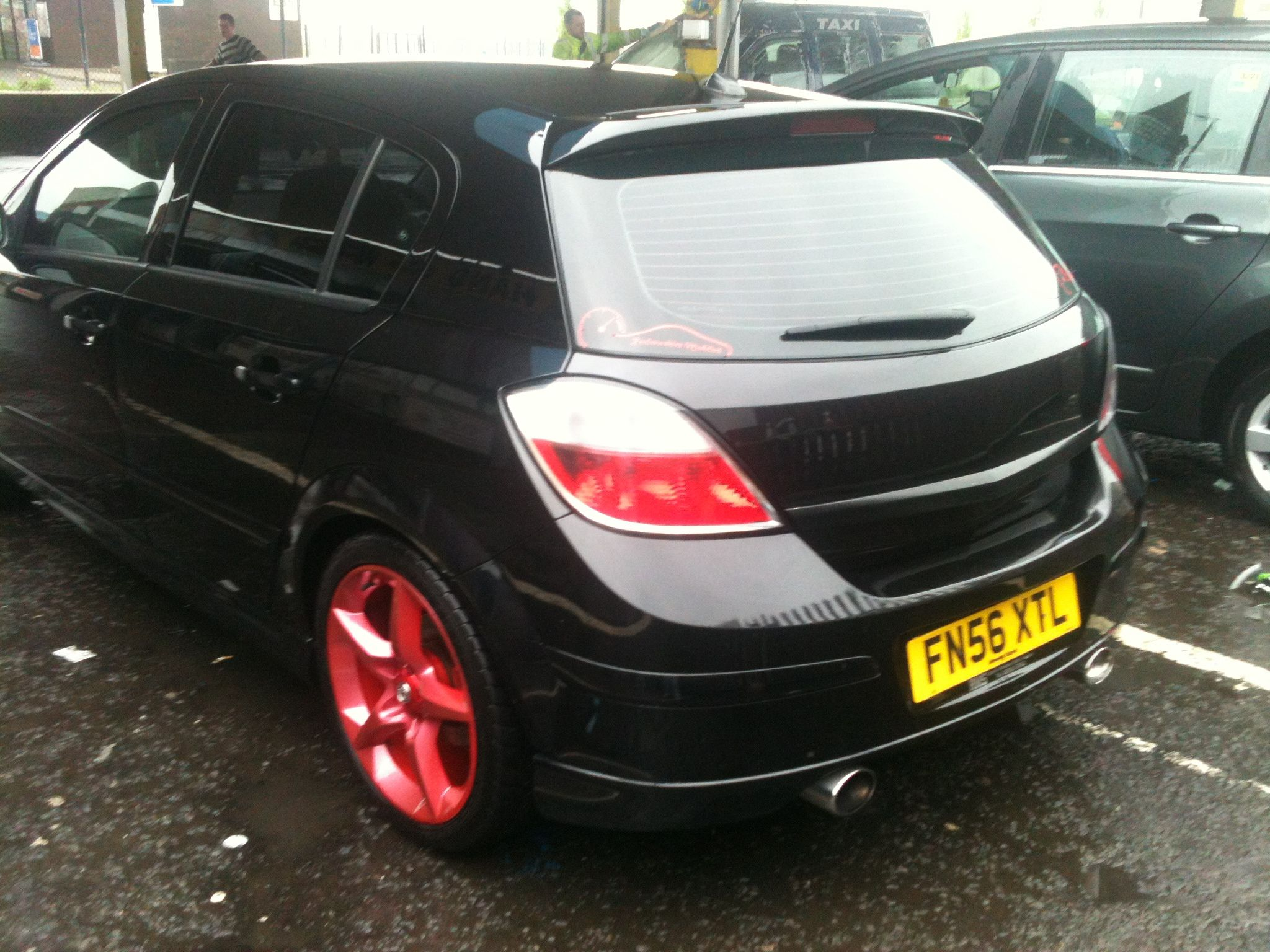 Modified Astra Sri Candy Paint Wheels