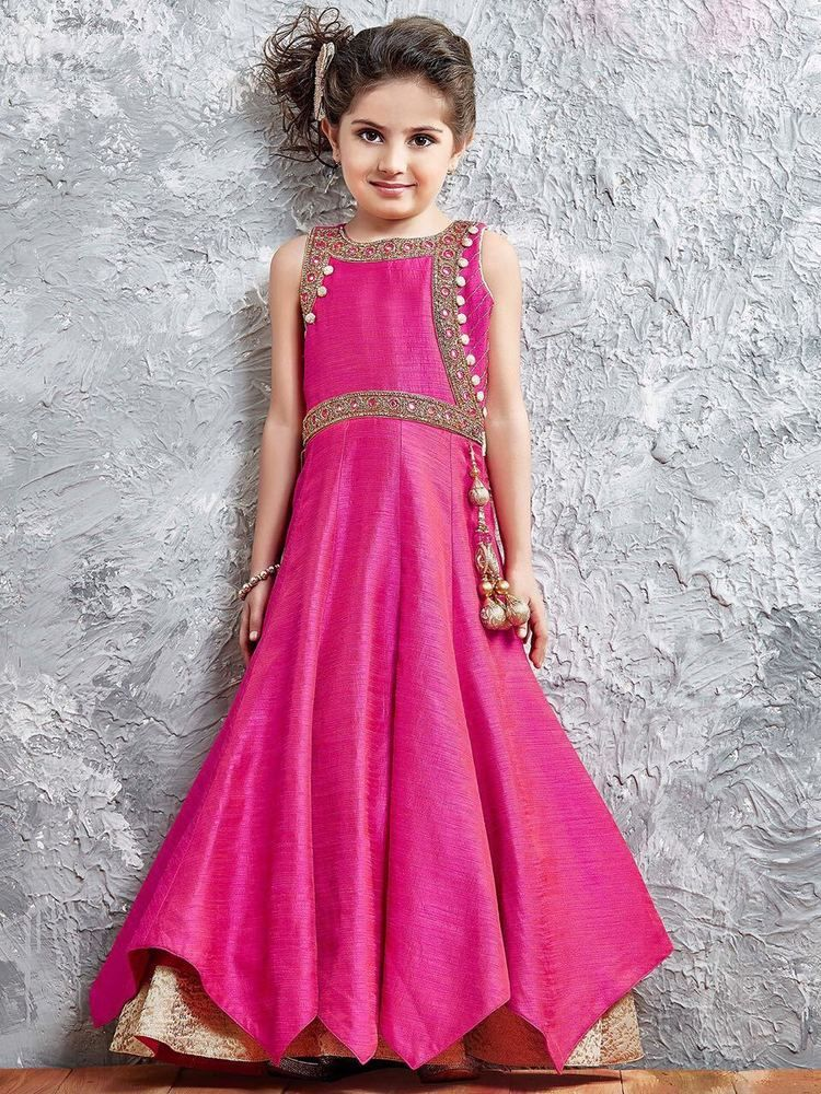 ee0c41f6157142 eid special dress Children Wear designer Gown Bollywood wedding Gown New  950019 | Clothing, Shoes & Accessories, Cultural & Ethnic Clothing, ...