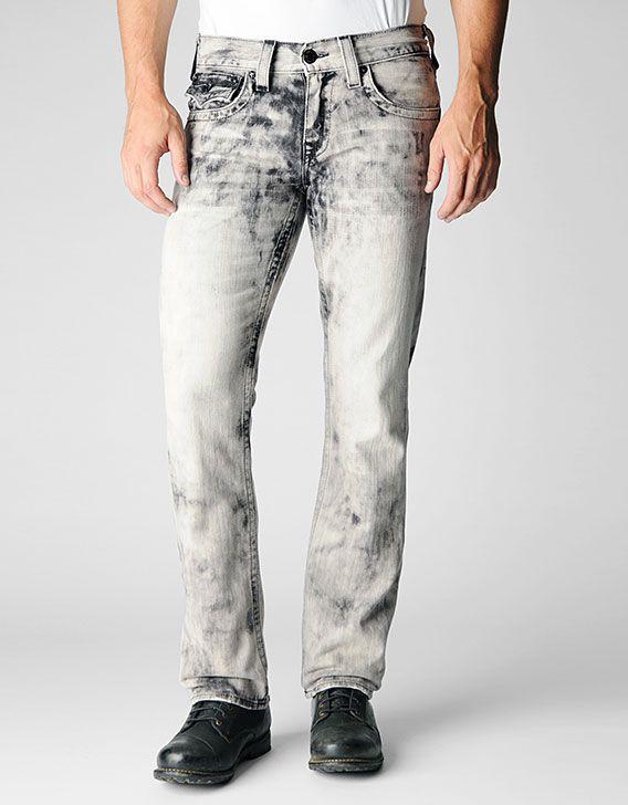 b21e263a True Religion Brand Jeans, RICKY STRAIGHT BLACK ANTELOPE MENS JEAN, dk  antelope, Mens : Jeans : Straight Leg, M08859GJ3YLD $250