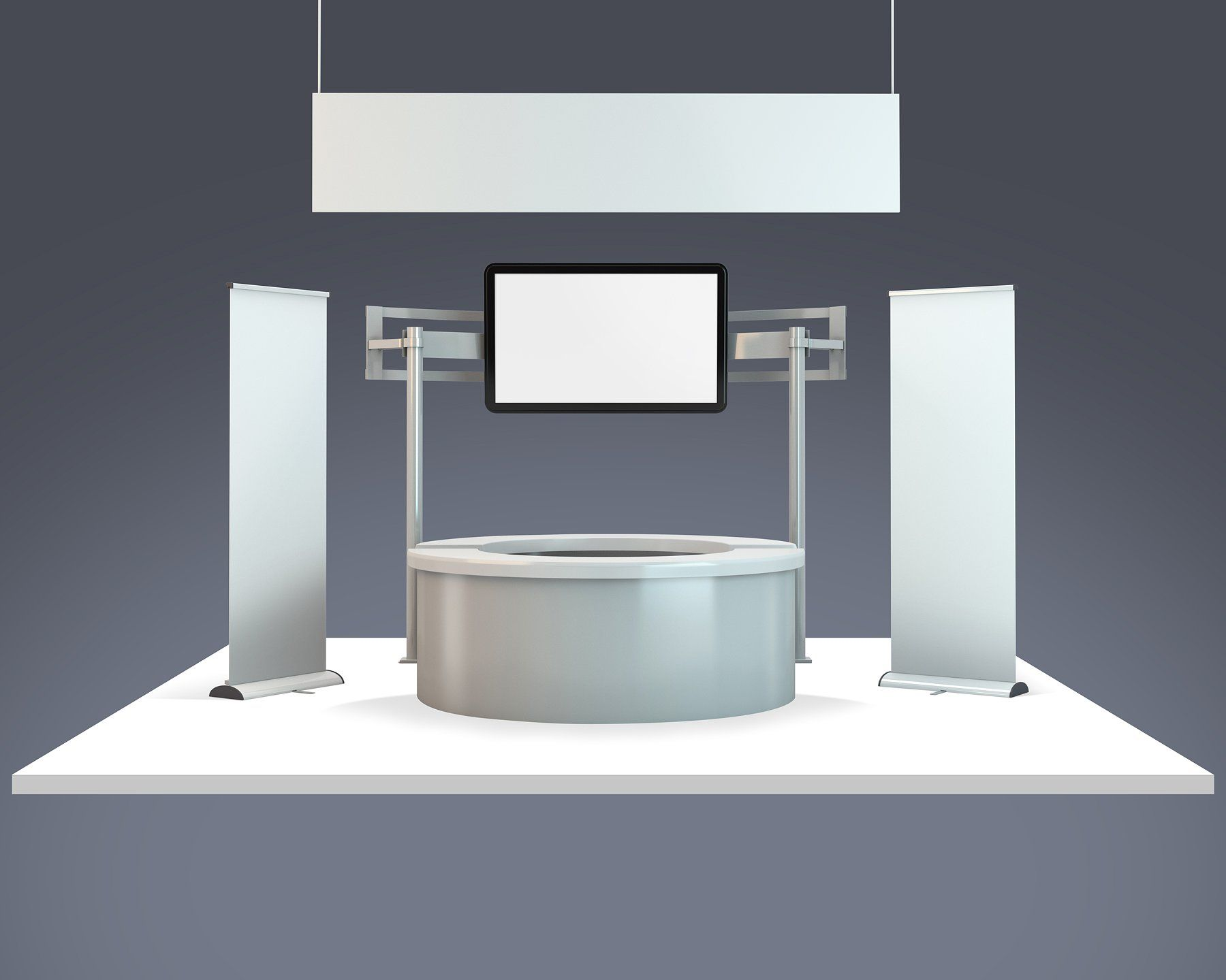 Exhibition Booth Mockup : Trade show exhibition booth mockup by vecto designs on