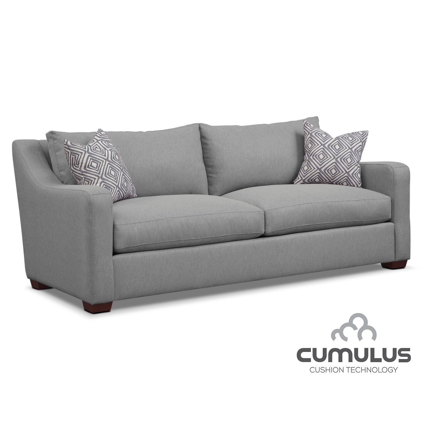 Living Room Furniture Jules Cumulus Sofa