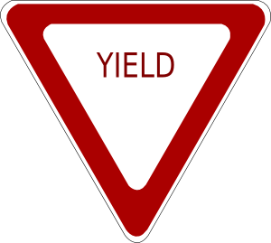 Oklahoma Road Signs Yield Yield Sign Road Signs Regulatory Signs