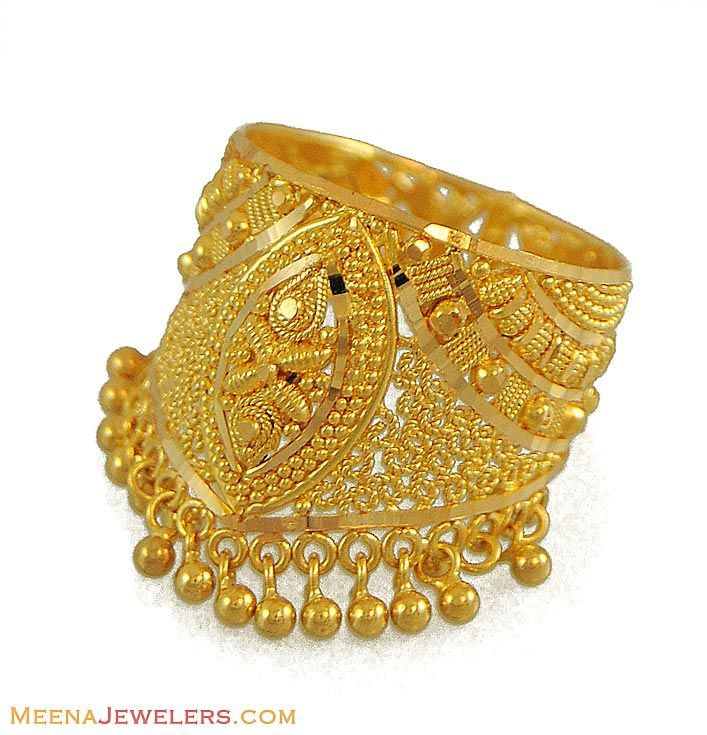 Indian gold ring design | Jewellery display | Pinterest | Gold rings ...