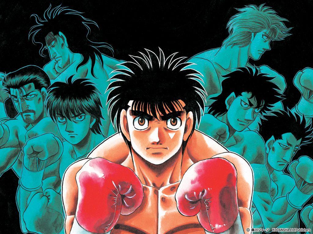 Hajime No Ippo Anime Anime Fantasy Good Anime Series