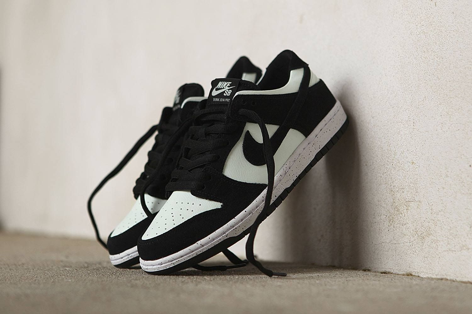 Nike SB Dunk Low Pro Black Barely Green White https://www.popname