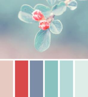 Vintage Blue Shabby Chic Colour Palette Shabby Chic Colors Color Schemes Color Inspiration