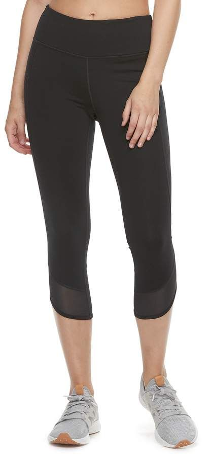 49b3a9f7c288a Women s Tek Gear® Shaping Mid-Rise Capri Leggings