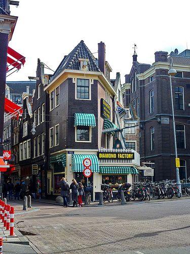 Plaatsen Rond Amsterdam.Diamond Center Amsterdam Toen En Nu Pinterest Amsterdam
