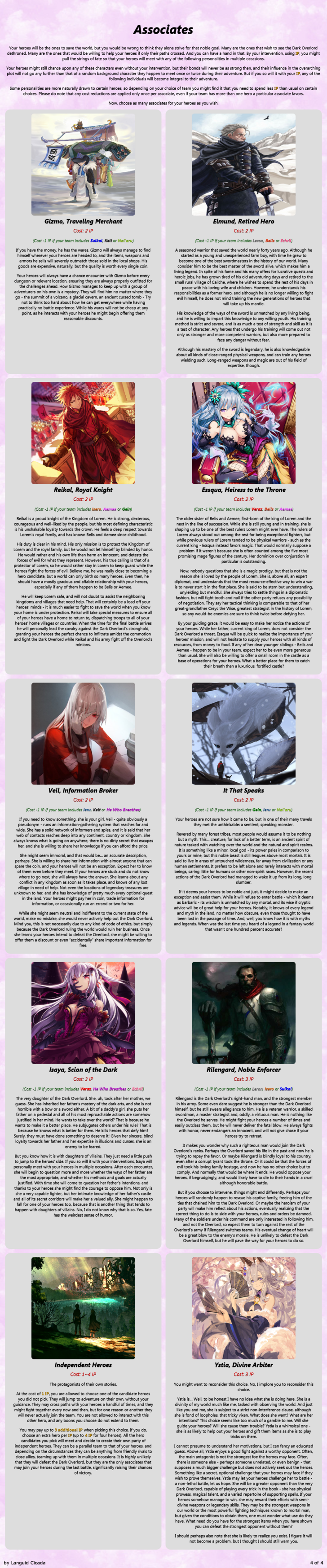 The Chooser of the One CYOA from tg in 2019 | CYOA (2