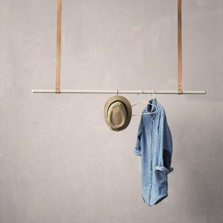 comment faire un portant porte v tements d co bois cuivre pinterest deco bois comment. Black Bedroom Furniture Sets. Home Design Ideas