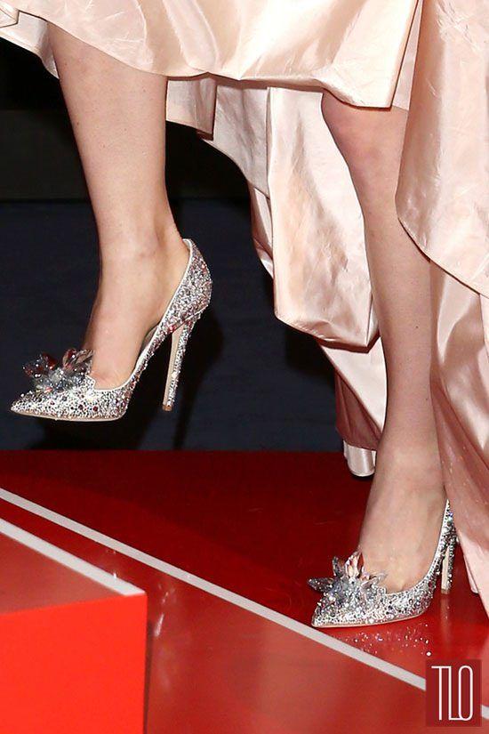 fda1f3e991bb Custom Jimmy Choo  Cinderella  slippers