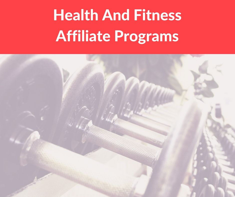 Image result for health and fitness affiliate programs