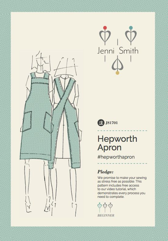 Functional and flattering, this ladies sewing pattern includes a ...