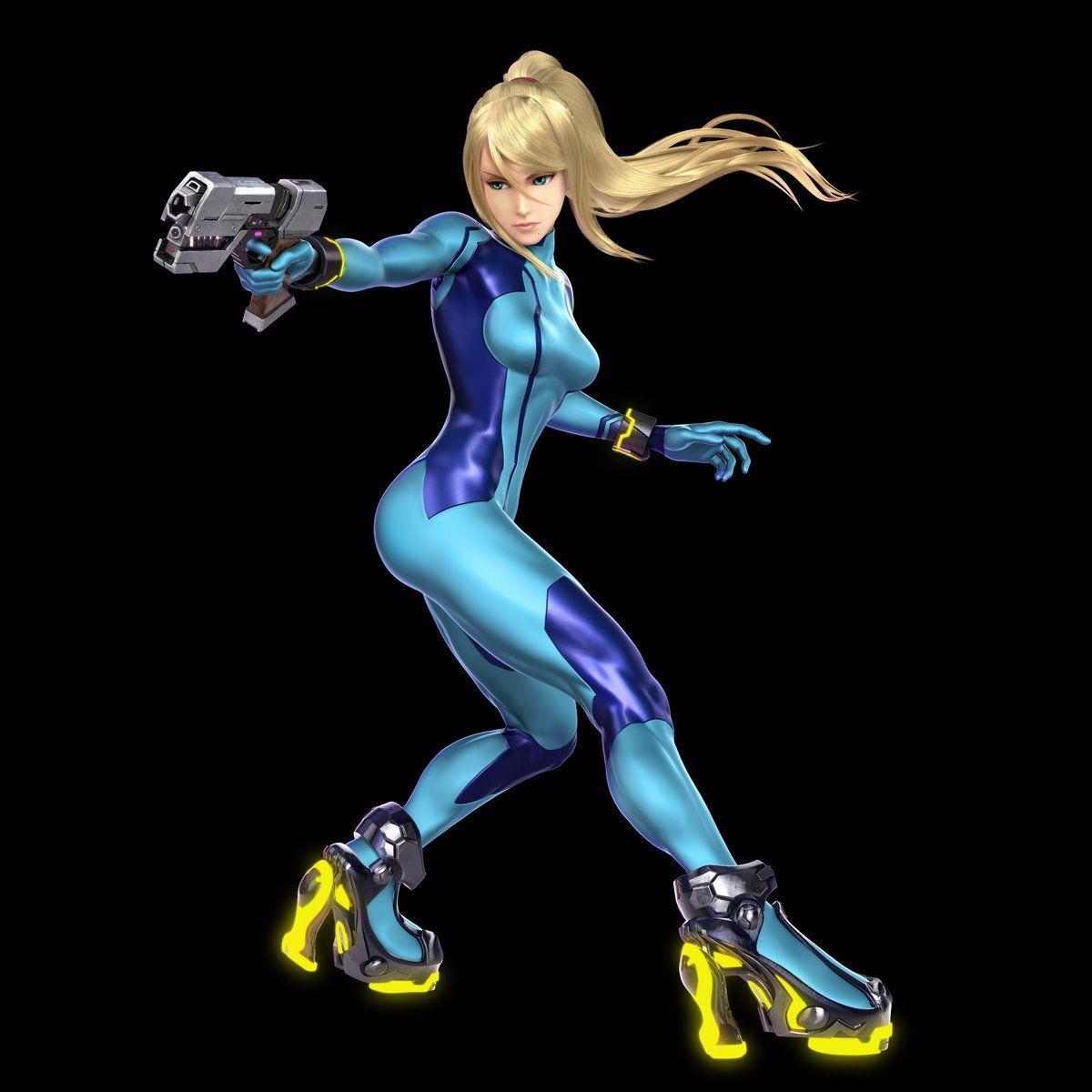 Super Smash Bros Ultimate Zero Suit Samus Metroid Zero