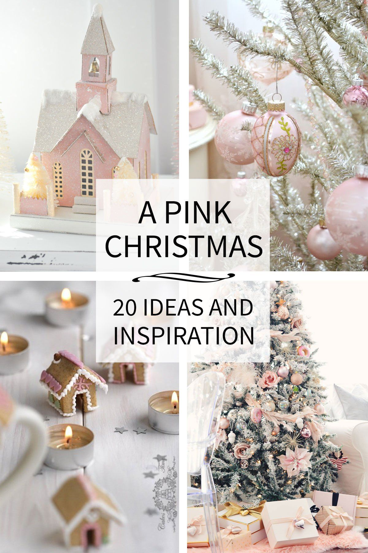 Pink Christmas Decor Ideas That Ll Inspire You Tidbits Pink Christmas Pink Christmas Decorations Pink Xmas