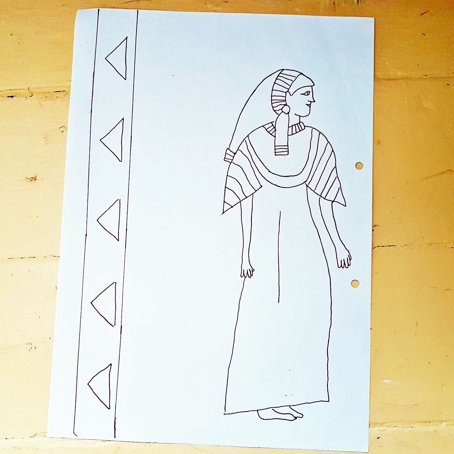 Meine Ägyptische Zeichnungen
