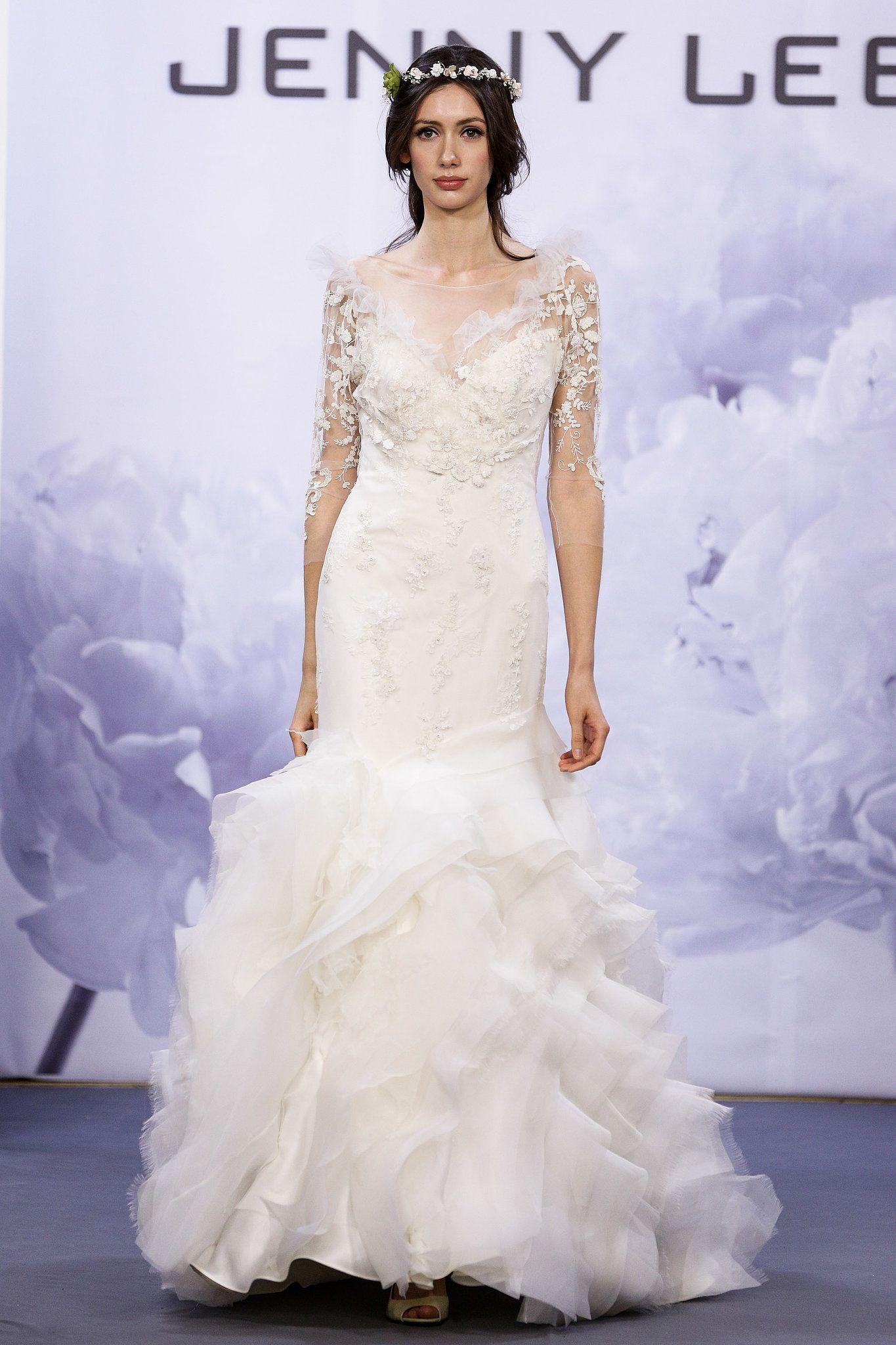 POPSUGAR Australia   Jenny Lee   Pinterest   Bridal fashion week ...