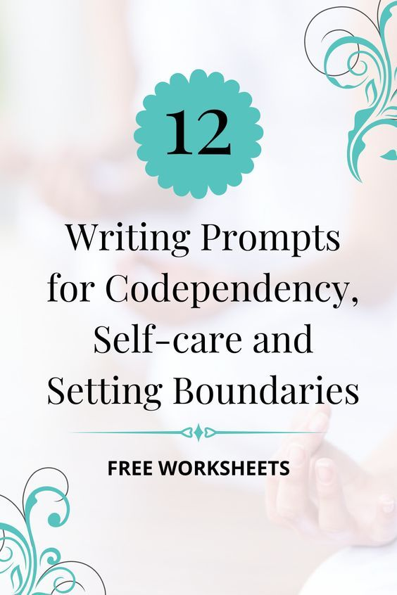 Free Writing Prompts for Codependency Recovery