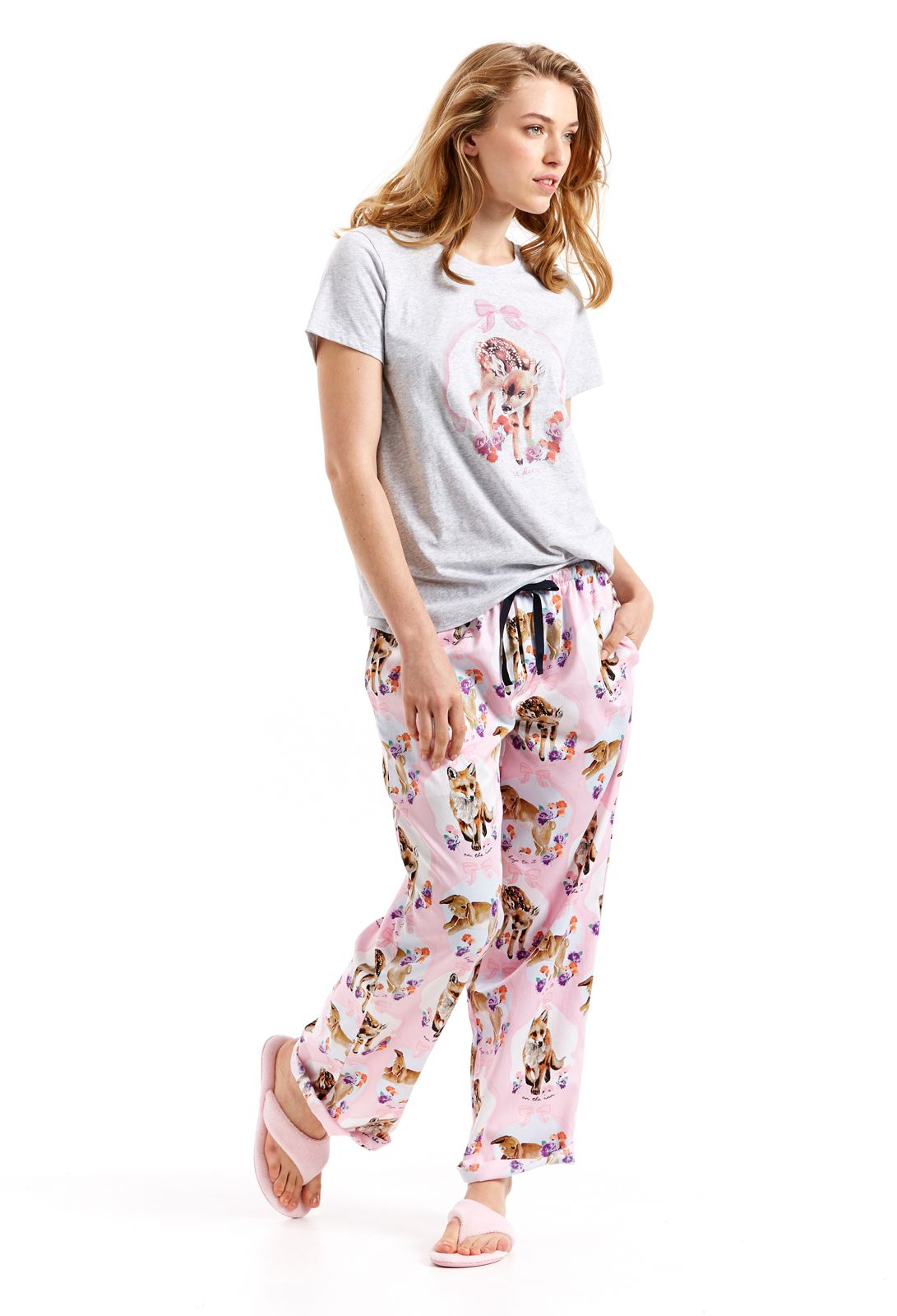 02afd64198 Pretty Woodland Pj Set | Peter Alexander | Cute Pjs in 2019 | Pj ...