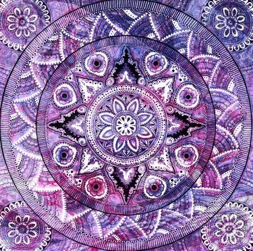 Untitled | Mandala, Purple, Mandala art