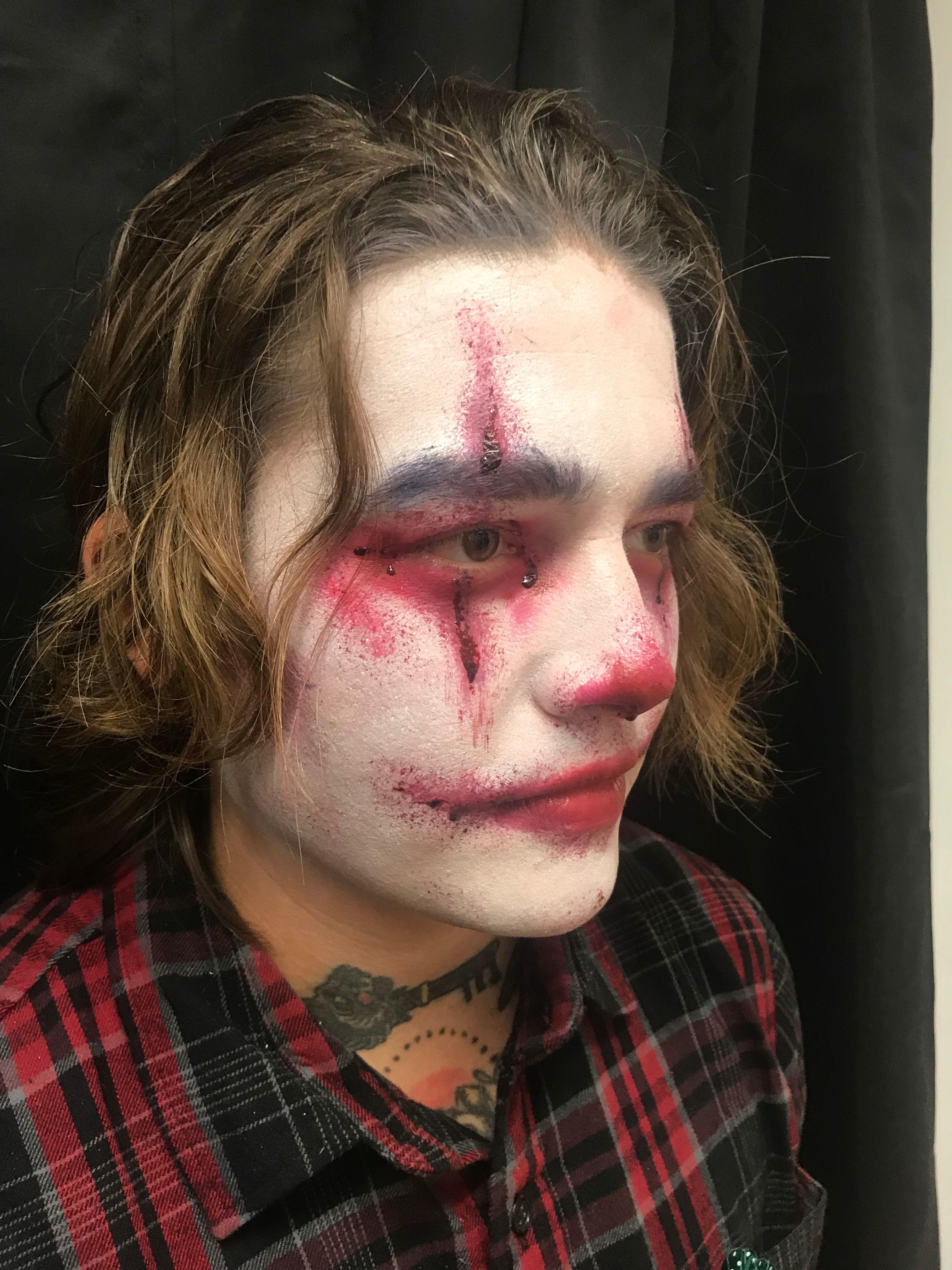 Spooky Male Clown Clown makeup, Beauty bar, Halloween clown