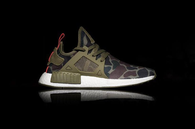 e50a7d2f3ba4 adidas Brings Duck Camo to the NMD XR1