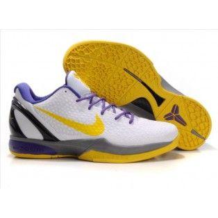 save off 04ddf b299f Shoes that delight. Nike Zoom Kobe VI Mens Basketball Shoe Yellow Purple  White