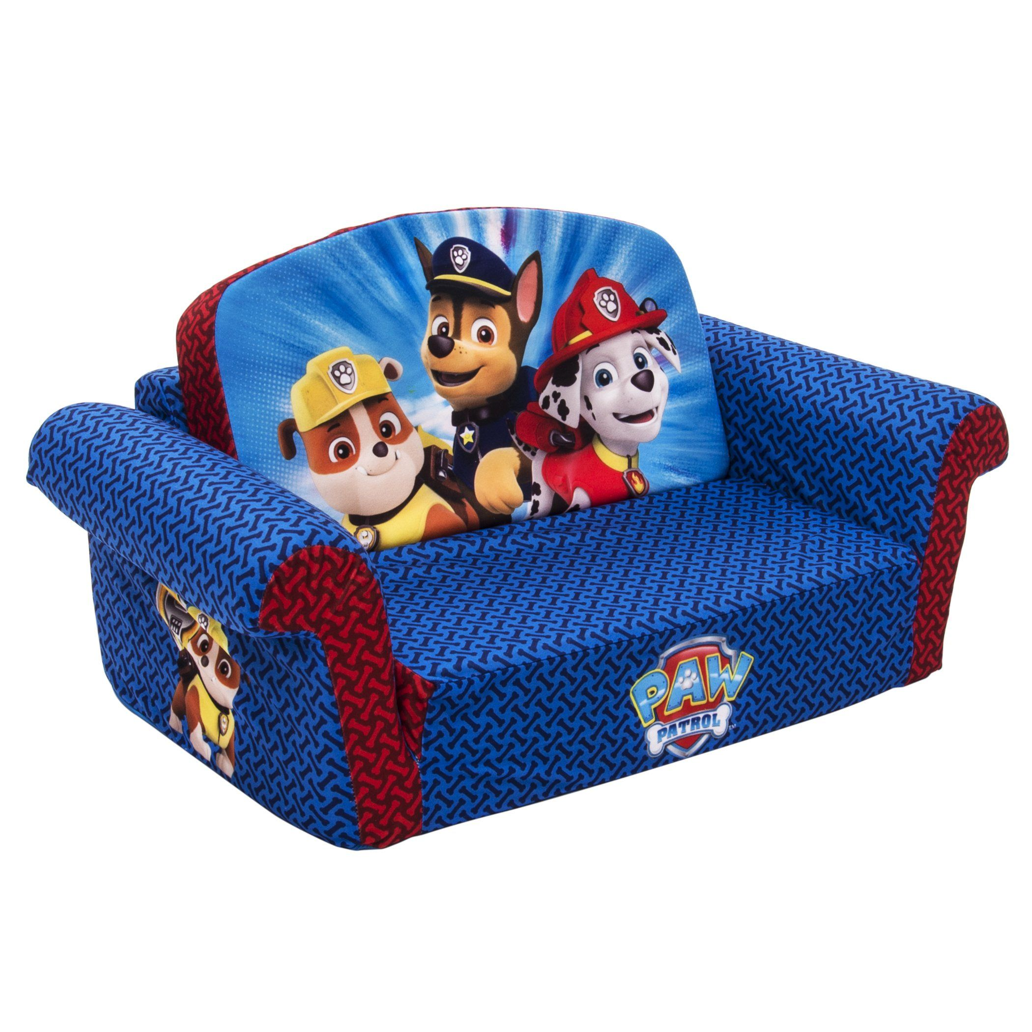 paw patrol flip open sofa target contemporary modern living room sofas amazon marshmallow children 39s furniture