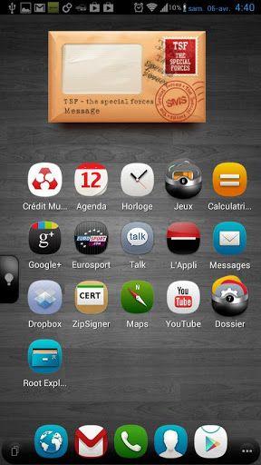 tsf shell app