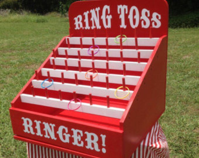 Frog Flinger Carnival Game. Perfect for Trade Show, Rental, Birthday, Church, VBS or School Party. Carnival Games
