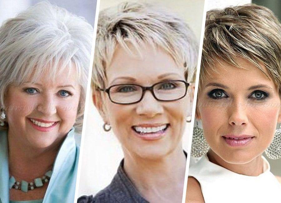 29+ Haircuts for seniors with thin hair ideas