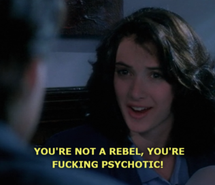 Inspiring picture Heathers, winona ryder, quote. Resolution: 500x273. Find the picture to your taste!