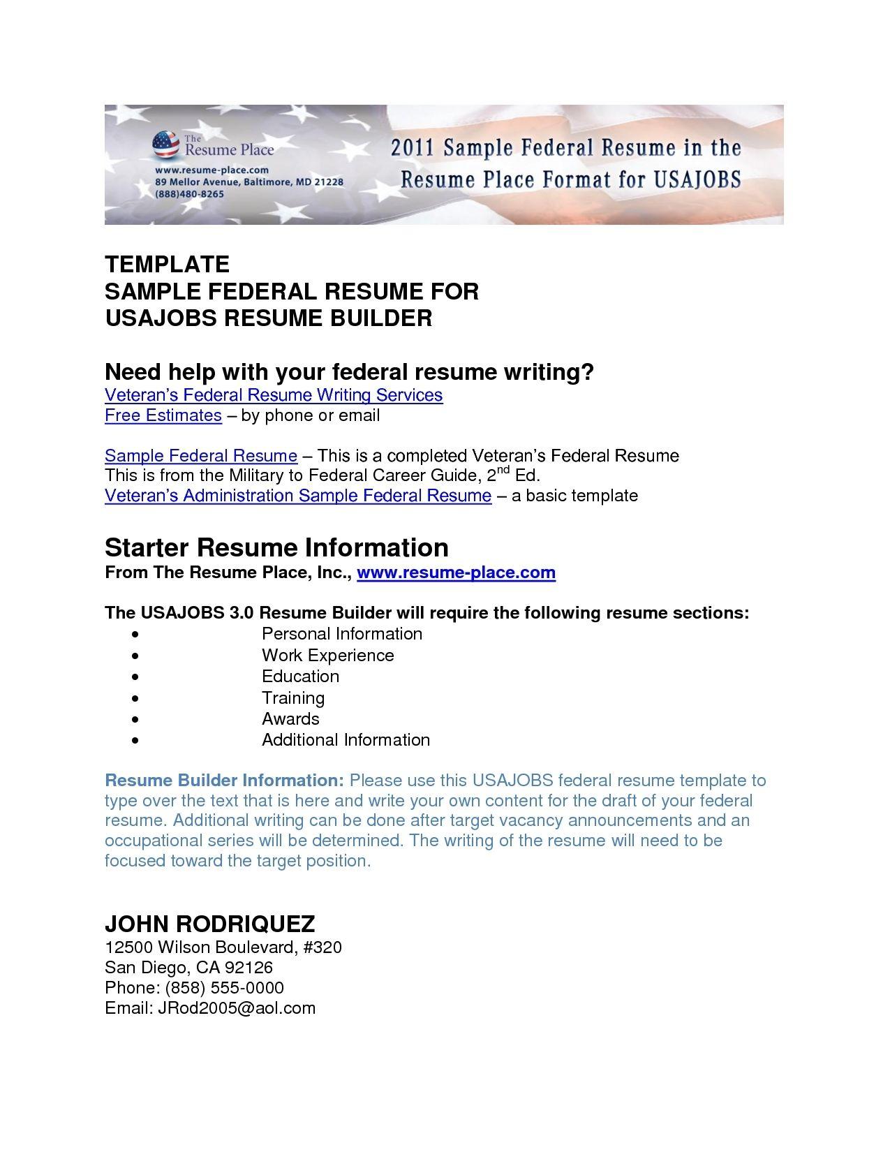 free military civilian resume builder with regard veteran student ...