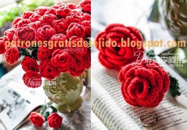 Esquemas de todas las partes de la rosa: flor, base y hojas para ...