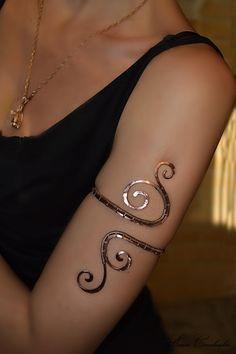 1000+ ideas about Arm Cuff Tattoo on Pinterest | Cuff Tattoo ...