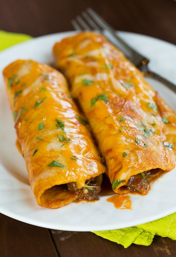 The Best Authentic Beef Enchiladas Brown Eyed Baker Recipe Mexican Food Recipes Authentic Mexican Food Recipes Mexican Dishes