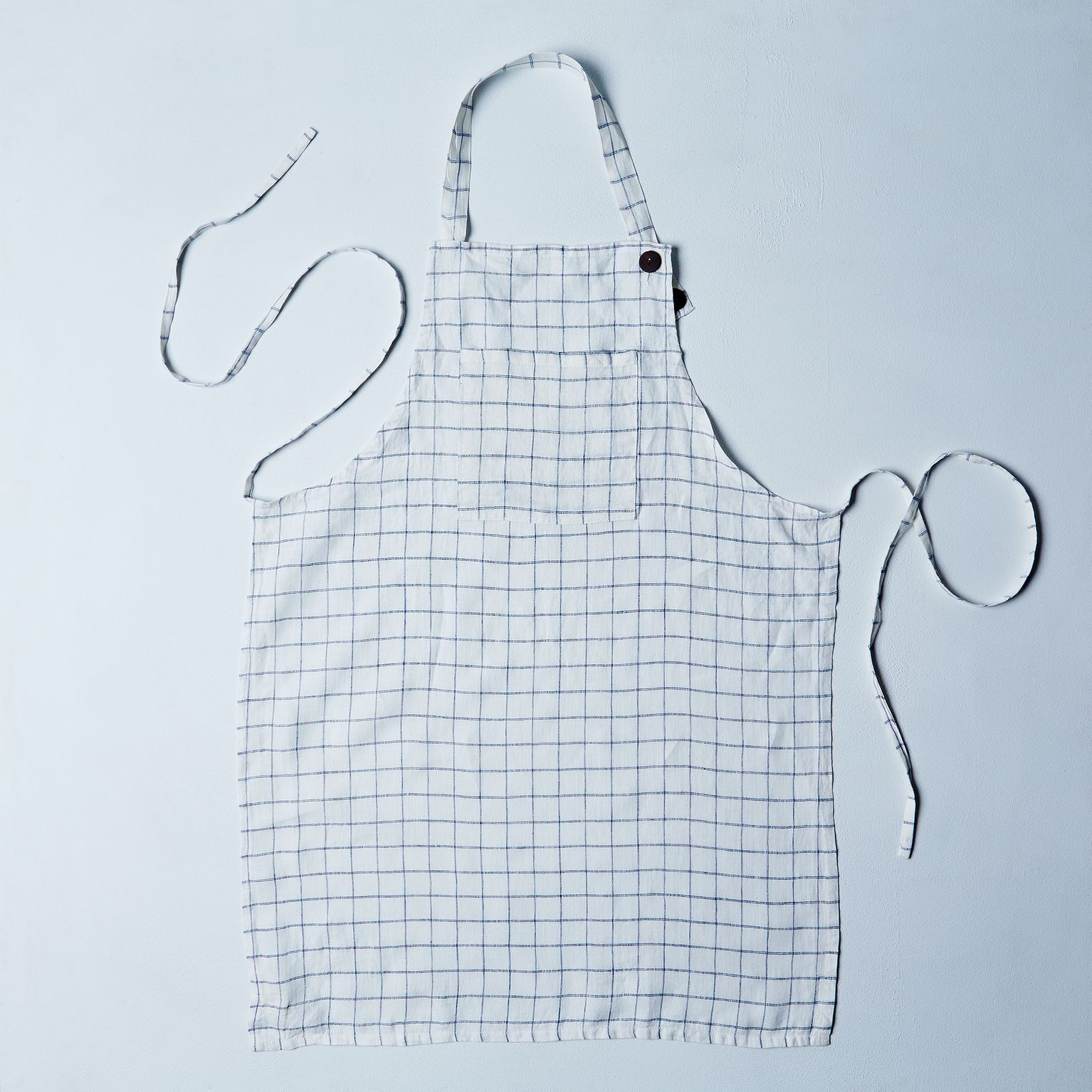 Washed Linen Apron