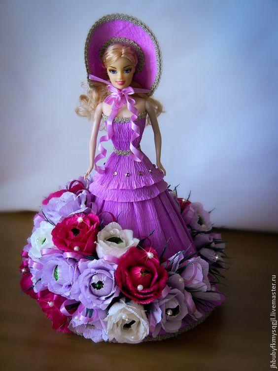 решила поделки кукол из конфет фото многообразию