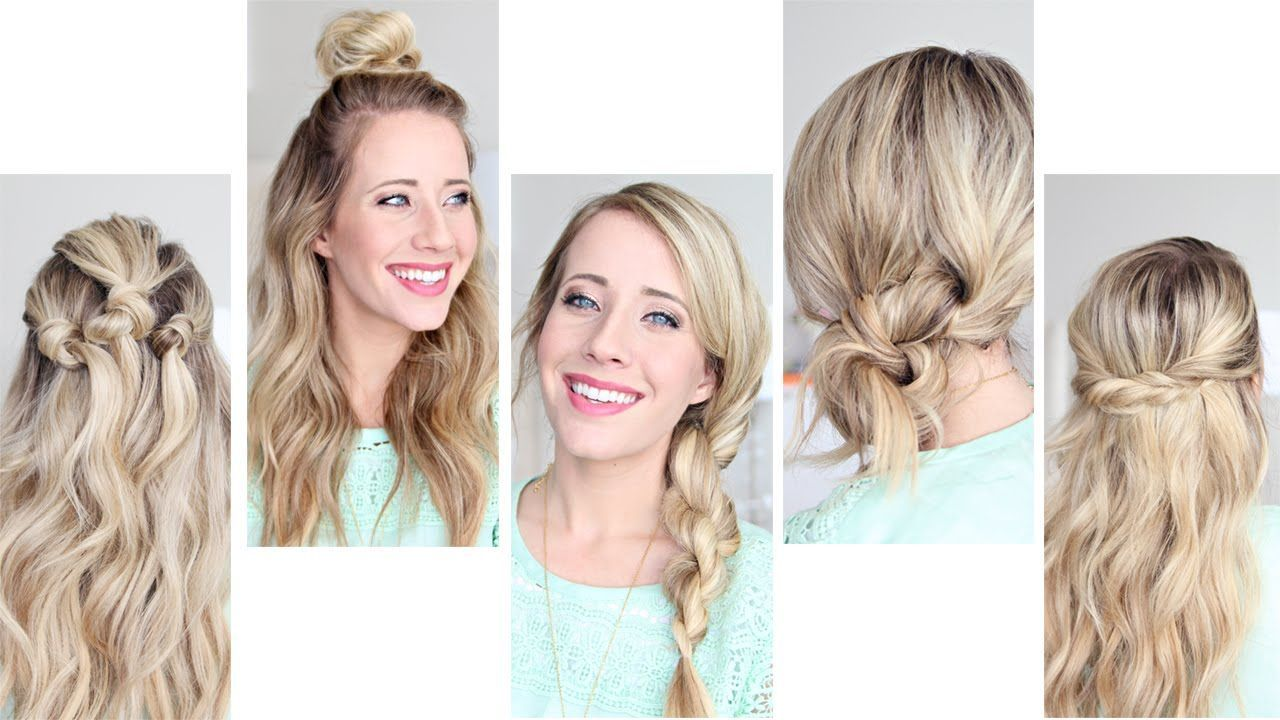 Easy Minute Hairstyles For Long Hair hairstyles