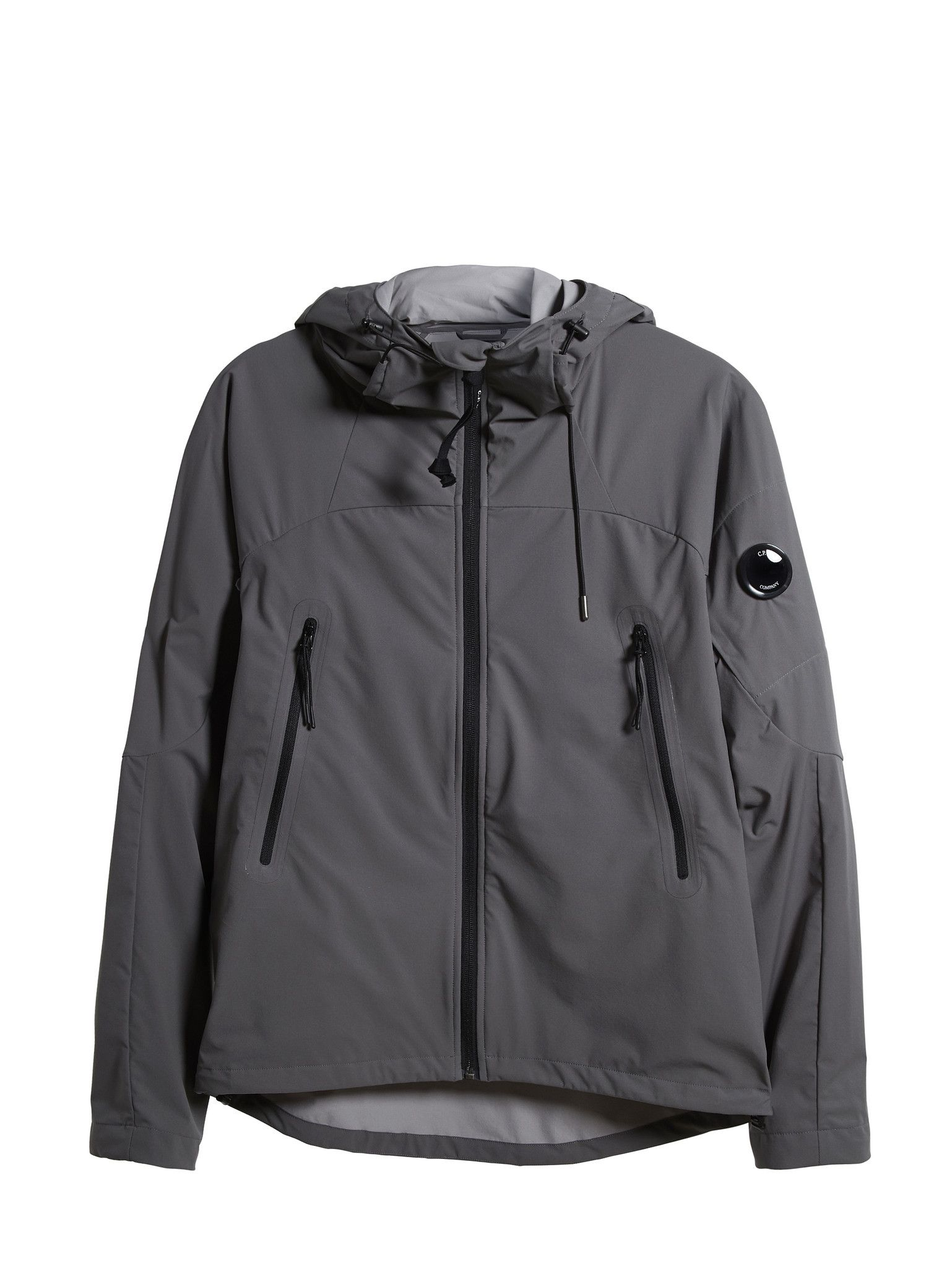 C.P Company Pro-tek Lightweight Hooded Jacket in Grey | man ...