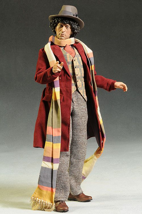 Doctor Who  CAPTAIN JACK   ACTIN FIGURE old has painted