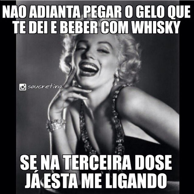 Gelo Whisky Wesley Safadao Arte Marilyn Monroe