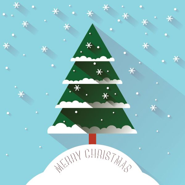 Christmas Snow Vector Graphic Dryicons Christmas Tree Graphic Christmas Vectors Christmas Illustration